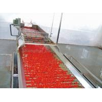 Buy cheap Fresh Tomato Paste Processing Line , High Productivity Tomato Paste Processing Machine from wholesalers