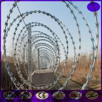 Buy cheap FOB And CIF price Razor Wire/Concertina Razor Barb Wire from wholesalers