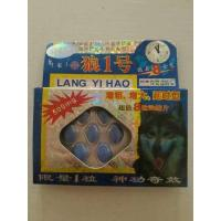 Wholesale Lang Yi Hao Herbal Sex Enhancement Pills For Males Wolf No.1 Powerful Strong from china suppliers