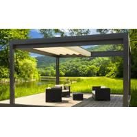 Buy cheap Villa Retractable Roof Pergola Outdoor Space Bioclimatic Metal Gazebo from wholesalers