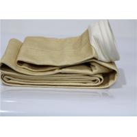 Buy cheap Nomex Industrial Filter Bags , High Temperature Filter Bags Needle Punched Cylindrical from wholesalers