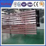 Buy cheap Brown color powder coating extrusion aluminium, aluminium profile extrusion from wholesalers