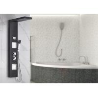 Buy cheap Dual Handle Control Bath Shower Panels Black Painting Appearance ROVATE from wholesalers