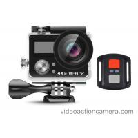 Buy cheap Remote Control 4K Wifi Action Camera High Definition With Dual Screen from wholesalers