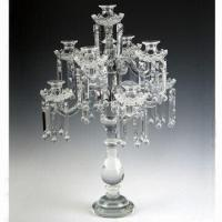 Buy cheap 9-light Crystal Candleholder, Measures 47 x 67cm from wholesalers