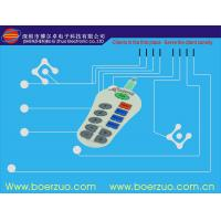 Buy cheap Flexible PCBA Waterproof Membrane Switch With Transparent Window from wholesalers