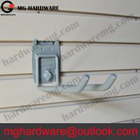 Buy cheap 8 heavy duty double hook for slatwall | Big everything hook grey color from wholesalers