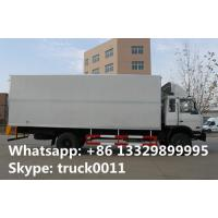 Buy cheap 4x2 dongfeng 8 ton to 15 ton refrigerated van, hot sale best price Cummins 170hp dongfeng brand refrigerated truck from wholesalers
