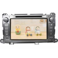 Buy cheap In car double din android 4.4 dvd player with gps bluetooth for toyota sienna from wholesalers