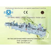 Buy cheap Automatic Folder Gluer Equipment For Corrugated Box Making Machine from wholesalers