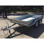 Buy cheap 10x6 Hot Dip Galvanised Tandem Trailers 3200KG from wholesalers