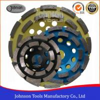 Buy cheap Professional 105-180mm Double Row Diamond Cup Wheel Long Grinding Life from wholesalers