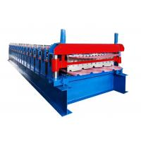 Buy cheap Low Noise Double Layer Roll Forming Machine For Galvanized Corrugated Roofing Panel Sheet from wholesalers