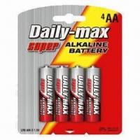 Buy cheap LR6 AA Super Alkaline Batteries with Aluminum Jacket from wholesalers
