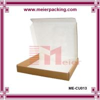 Buy cheap E flute customized brown kraft paper corrugated mailing box for baby clothing from wholesalers