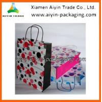 Wholesale Kraft Paper Bag Twisted Handle Paper Bag from china suppliers