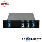 Buy cheap Network Dwdm 2 Channels Dual Fiber DWDM OADM East Or West LGX Box 200GHz from wholesalers