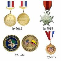 Buy cheap Bronze Badges Bronze Medal Plaque HY7033 from wholesalers