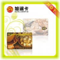 Buy cheap Contact Smart Card SLE 5542 Chip Hico Magnetic Strip CMYK Printing from wholesalers
