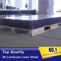 Wholesale 120x240cm 20 LPI Polystrere material 3mm Thickness Plastic Lenticular plate thick lenticular material from china suppliers