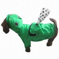 Buy cheap Reversible Dog Raincoat with Poop Bag Pouch, Available in Duck, Frog, Chick and product