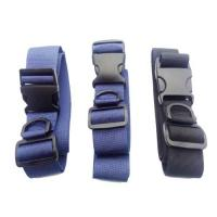 Buy cheap Travel Security Sewing Adjustable Straps Nylon Luggage Strap With Plastic Safety Buckle from wholesalers