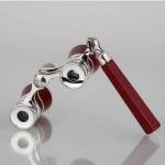 Buy cheap EK4515 3x25 Burgundy Opera Glasses with Handle from wholesalers