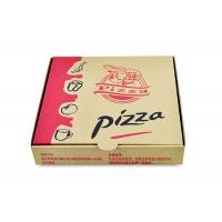 Buy cheap Takeaway 10 Inches Cardboard Pizza Boxes Double Wall With Custom Logo / Printing from wholesalers
