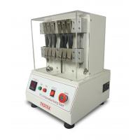 China ISO 7854 & BS 3424-9De Mattia Flexing Tester /leather and coated flexing testing machine(TF117A) on sale