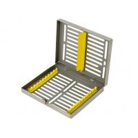 Buy cheap 10 Dental Instruments Stainless steel Autoclave Sterilization Cassette Tray Racks from wholesalers