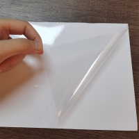 Buy cheap Self Adhesive Soft Touch PVC Laminating Pouch Film from wholesalers