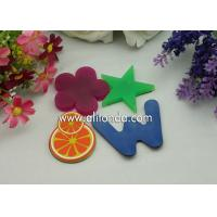 Wholesale Cheap single color blue green red color alphabet star flower different kinds of shape fridge magnets for promotion from china suppliers