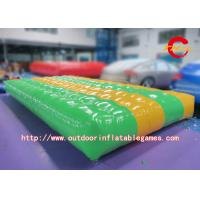 China 0.55mm PVC Inflatable Air Track Mat , Outdoor Inflatable Air Tumble Track on sale