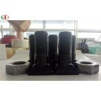 Buy cheap EB567 High Strength Chrome Nuts And Bolts For Mine Mill Liners In Black Color from wholesalers