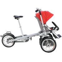 China GTZ German Technical Baby Stroller Bike Plastic / PU / PVC Baby Tricycle on sale