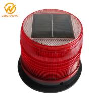 Wholesale Magnetic Bottom Red Traffic Warning Lights , LED Solar Emergency Warning Light from china suppliers
