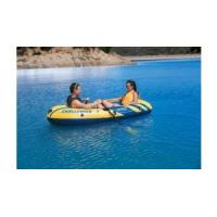 Two Adults Ferry Barge Rubber Dinghy , Heavy Duty Inflatable Boat Manufactures