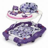 Buy cheap Baby Walker with Rocking System, Can Add Push-bar, Foot Pad and Canopy from wholesalers