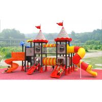 Buy cheap Residential Childrens Plastic Playground , Childrens Plastic Slide Set from wholesalers