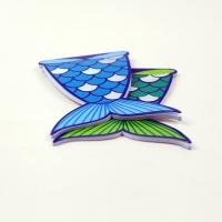 Buy cheap Different Interesting Fish Shape Books / Softcover Notebook Notepad Printing from wholesalers