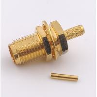 Buy cheap Straight  Sma Antenna Connector Female Pin Crimp For RG Cable from wholesalers