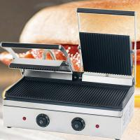 CE Appoval Electric Table Counter Top Hamburger Griddle Manufactures