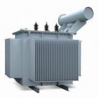 Buy cheap Oiled Immersion Power Transformer, Suitable for Over 10kV Distribution, Maintenance-free from wholesalers
