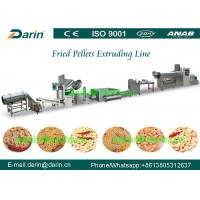 Buy cheap 3D Pellet Snack Extruder Machine , potato chips making machine from wholesalers