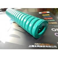 Buy cheap Green Mold Coil Spring , Vacuum Cleaners Heavy Duty Compression Springs from wholesalers