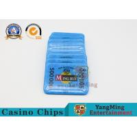 Buy cheap Gambling RFID Casino Chips / ABS Poker Chips Set With Uv Mark 13.56Mhz from wholesalers