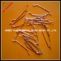 Buy cheap hooked end steel fiber for concrete reinforcement from wholesalers