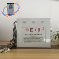 Buy cheap Innovative White 12kw Steam Generator With Stainless Steel Tank and Water Level from wholesalers