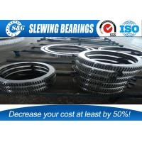 loading (unloading) machinery double row slew bearing with different steel balls Manufactures