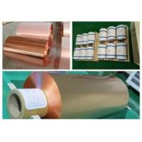 Buy cheap 10um Lithium Battery Pure Copper Sheet RA Double Shiny Thin Copper Foil from wholesalers